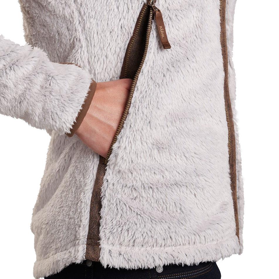 Women's Flight Jacket, Stone-6
