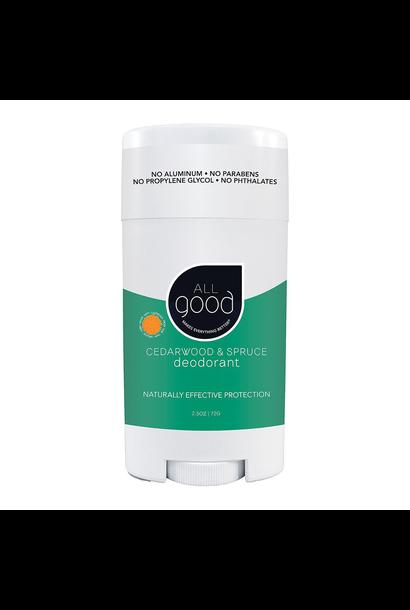 Deodorant Cedar and Spruce