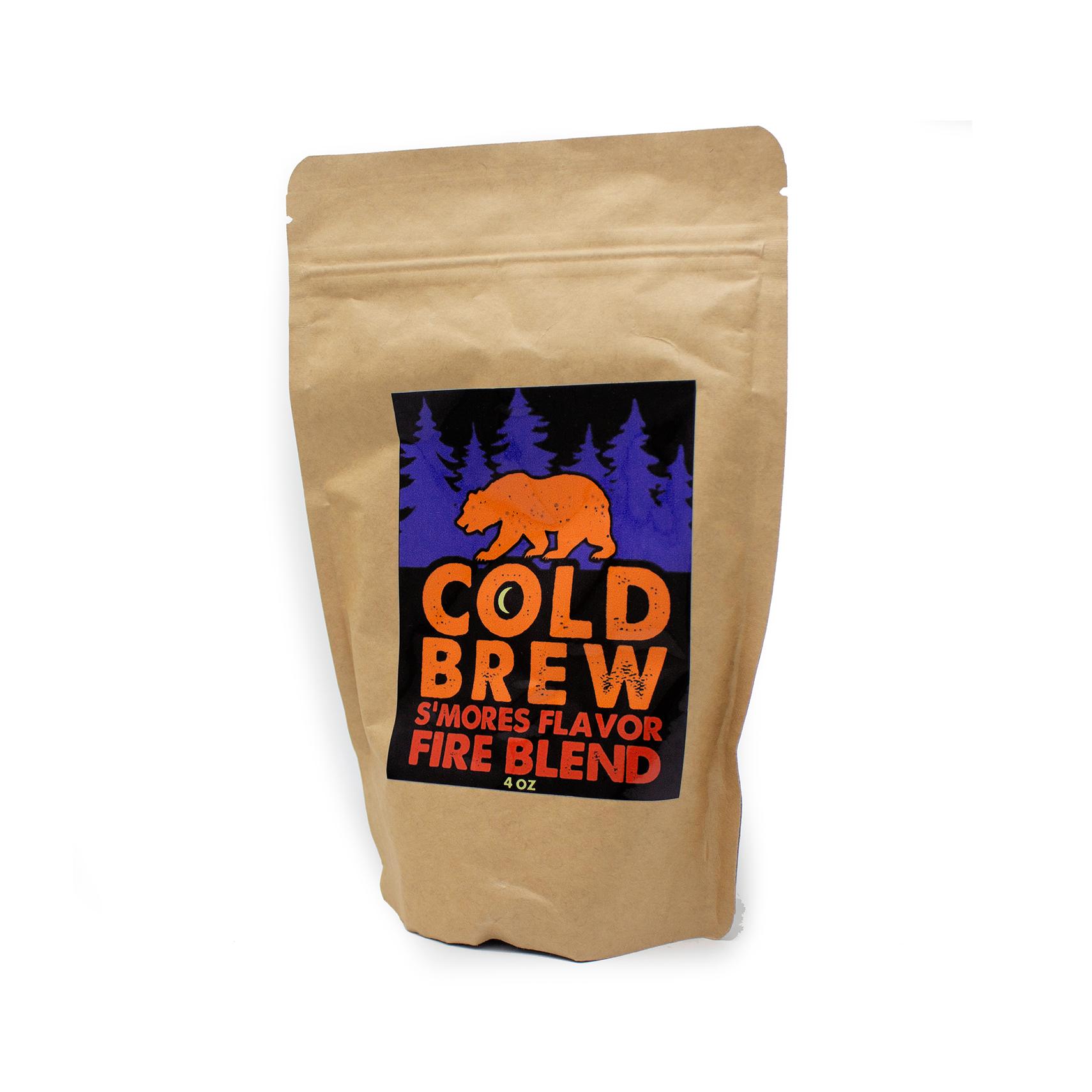Smores Fire Blend Coffee, 4 oz-1