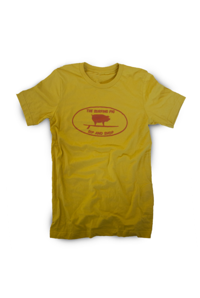 The Surfing Pig Sip and Shop S/S, Gold