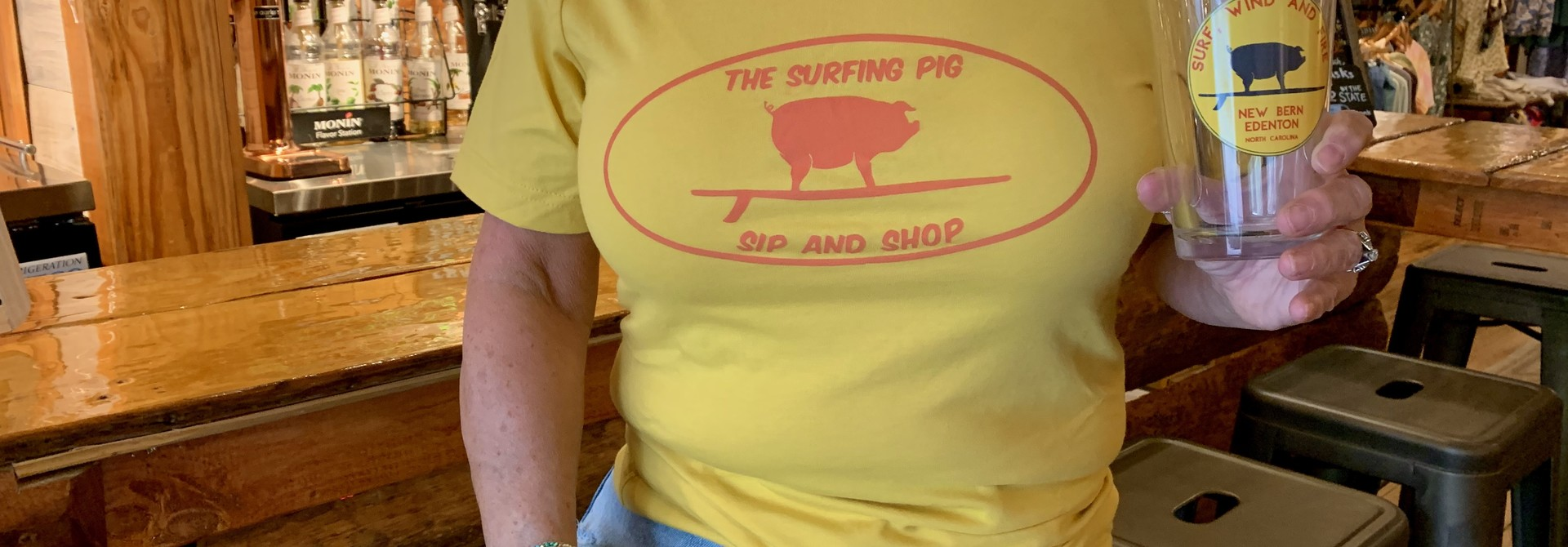 The Surfing Pig Tap Room Apparel