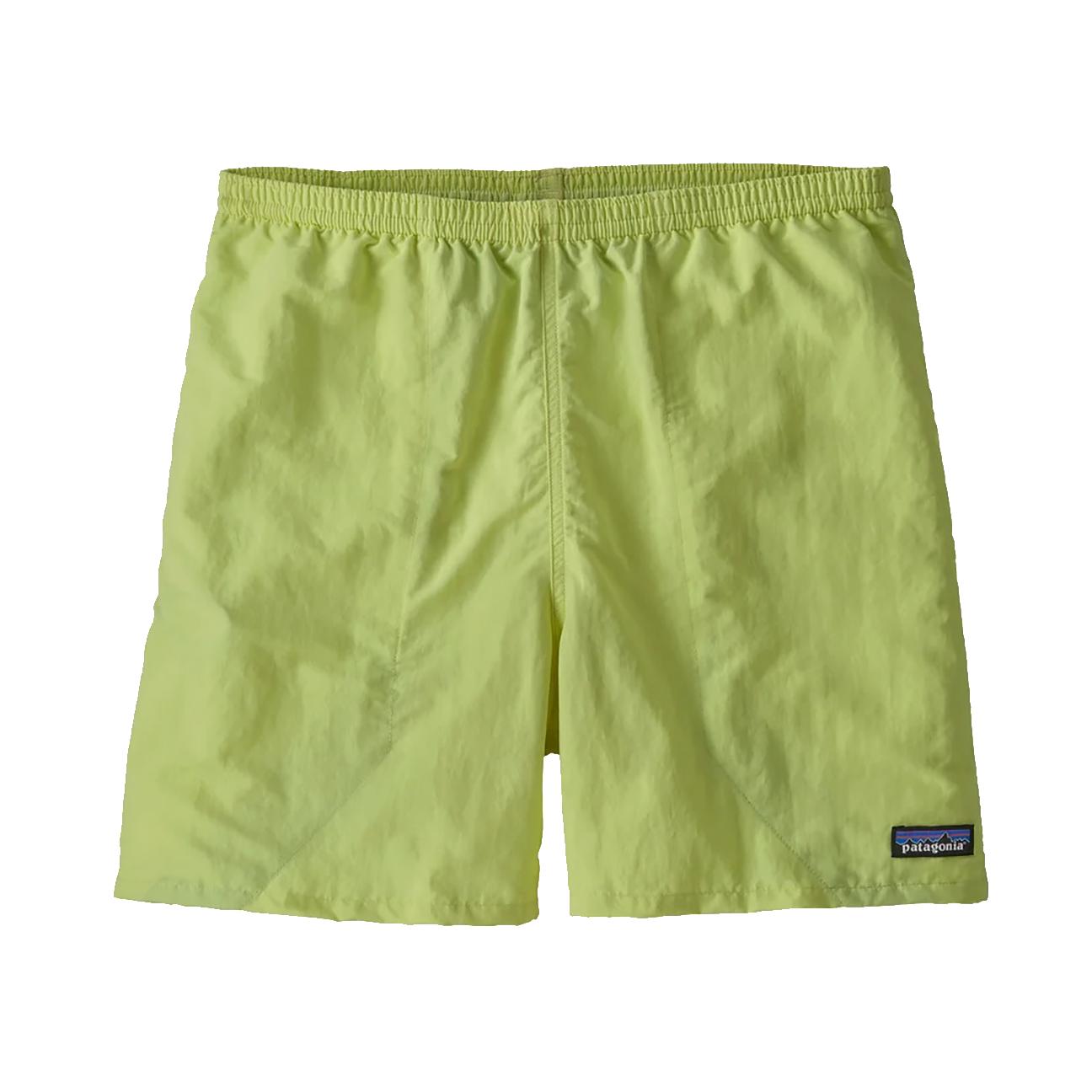 "Men's Baggies Shorts - 5"", Jellyfish Yellow-1"