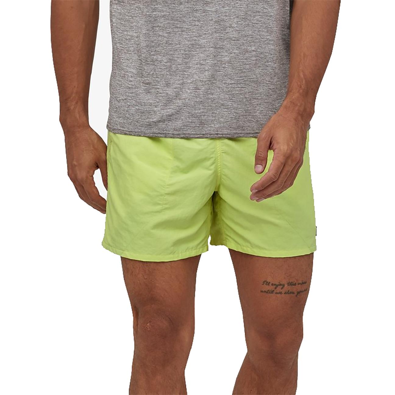 "Men's Baggies Shorts - 5"", Jellyfish Yellow-2"