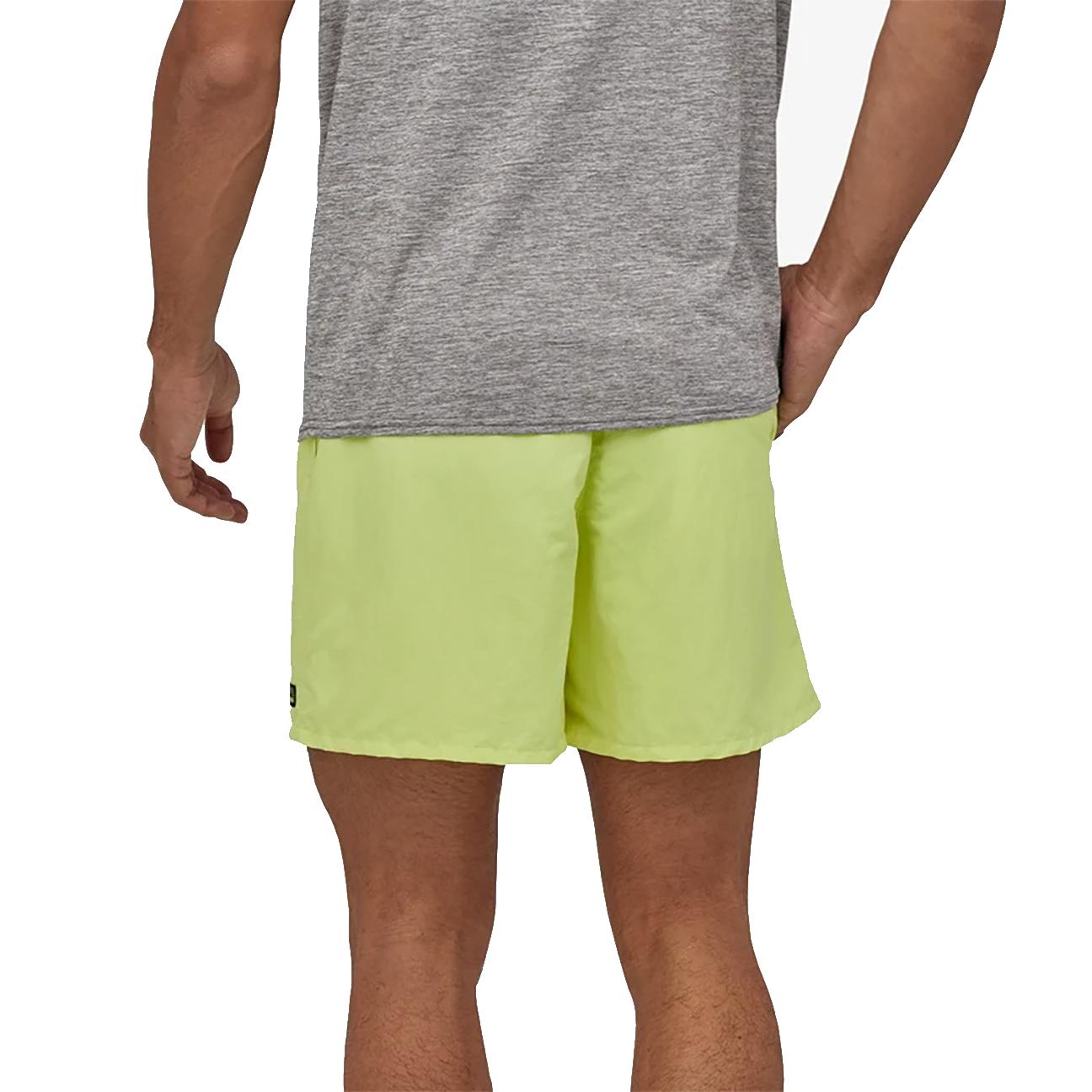 "Men's Baggies Shorts - 5"", Jellyfish Yellow-3"