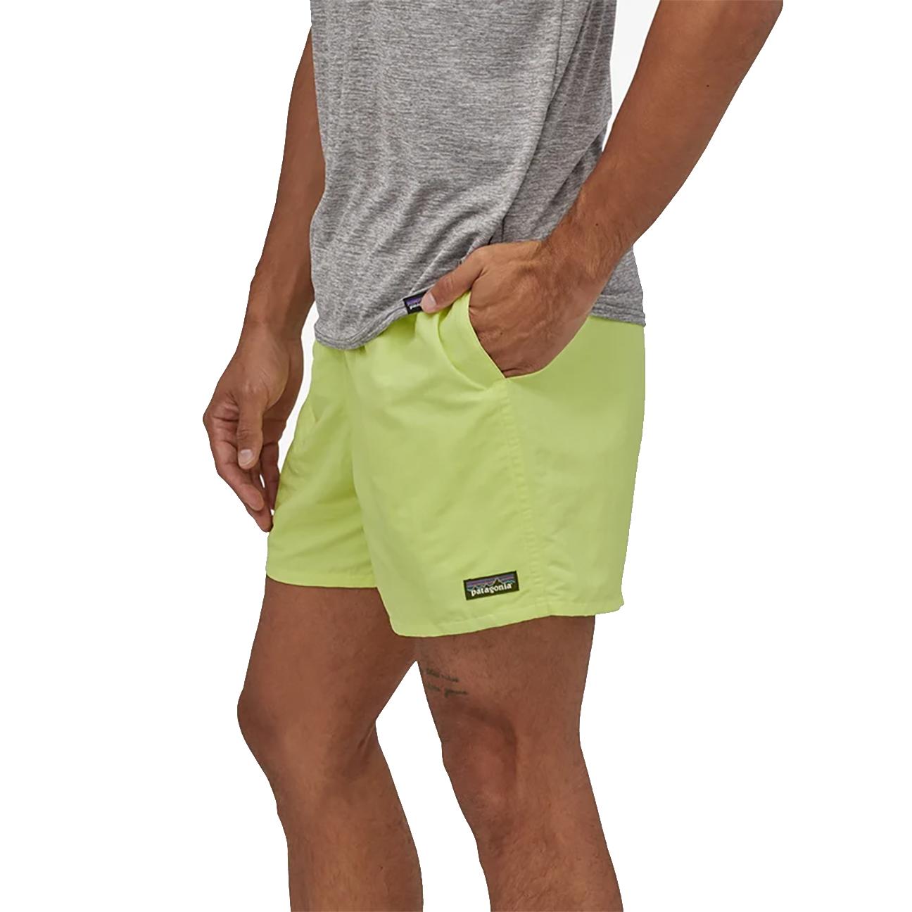 "Men's Baggies Shorts - 5"", Jellyfish Yellow-4"