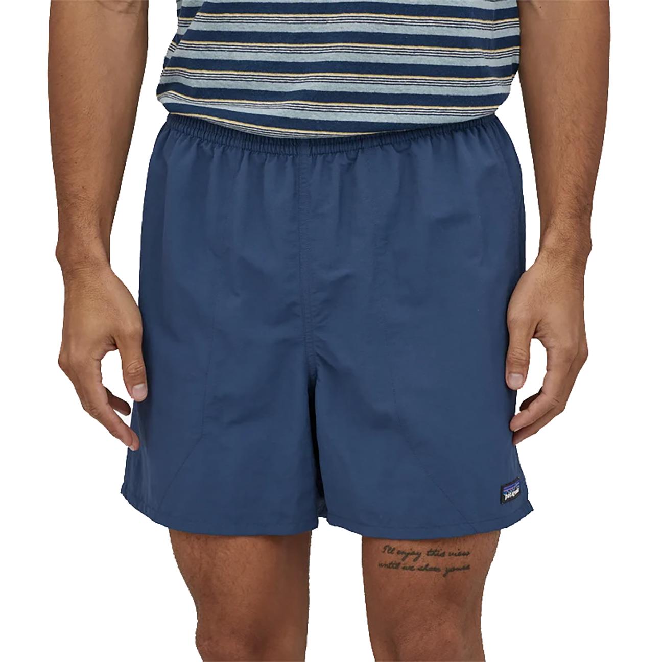 "Men's Baggies Shorts - 5"" Stone Blue-2"