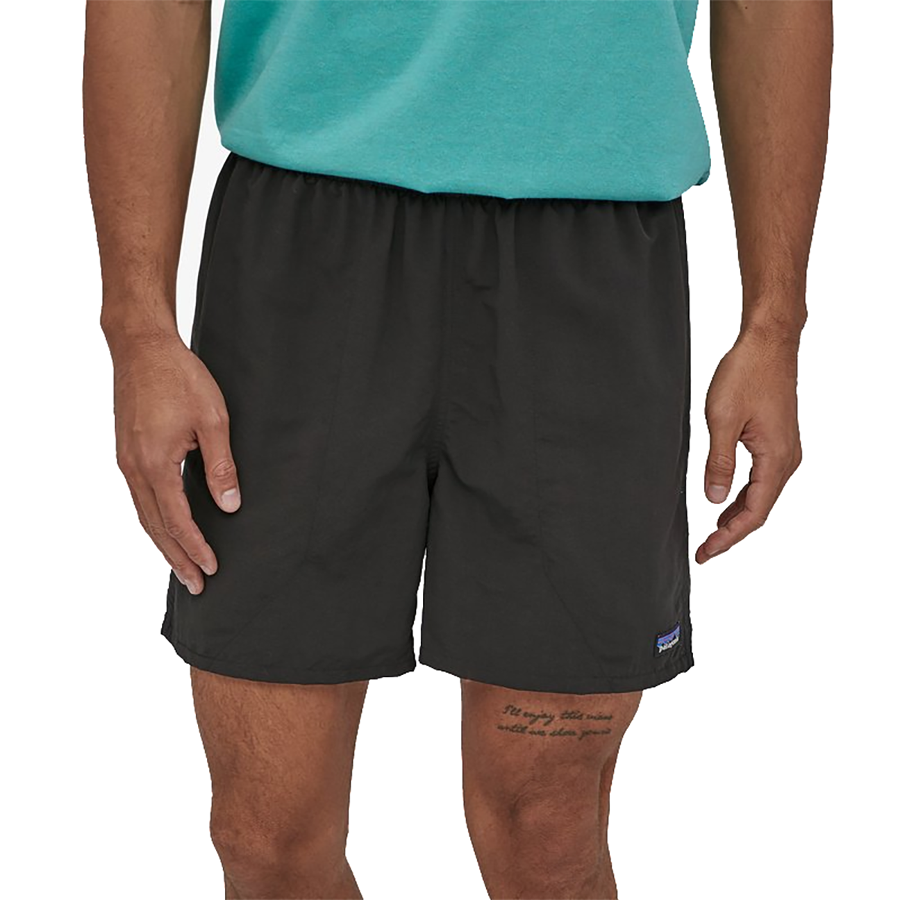 "Men's Baggies Shorts - 5"", Black-2"