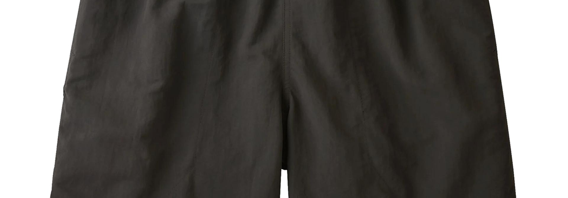 "Men's Baggies Shorts - 5"", Black"