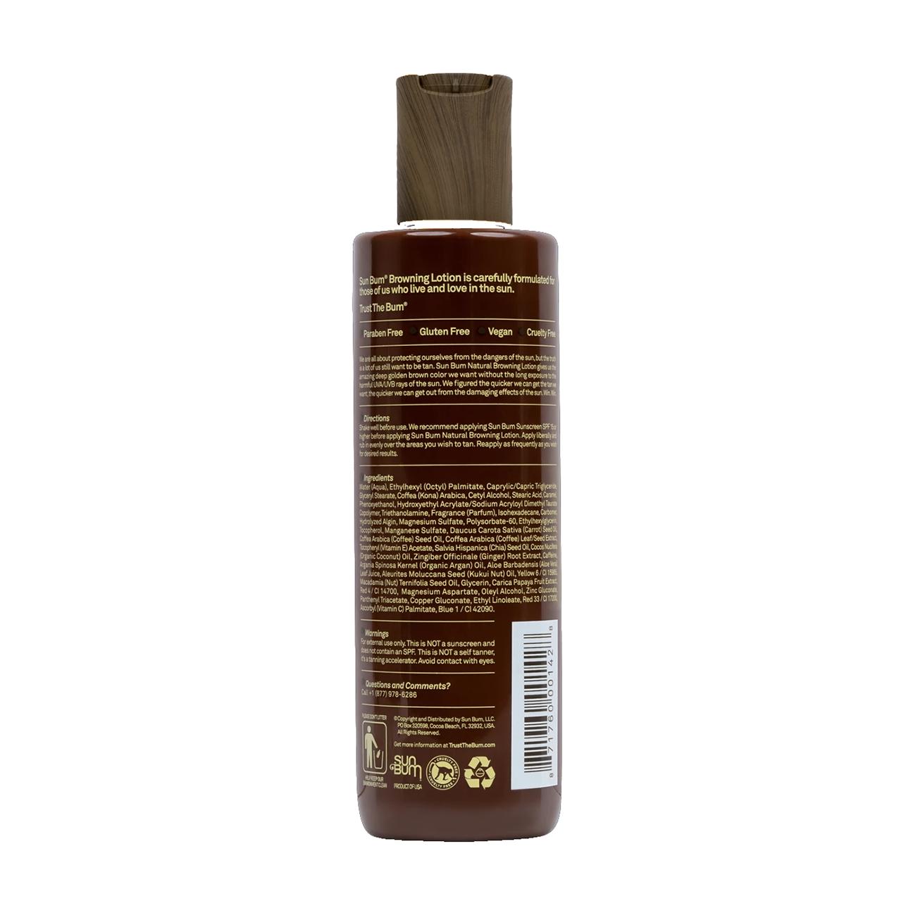 Natural Browning Lotion, 8.5 oz-2