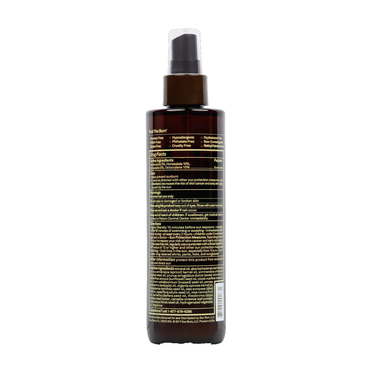 SPF 15 Sunscreen Tanning Oil, 8.5 oz-2