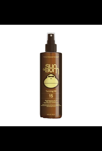 SPF 15 Sunscreen Tanning Oil