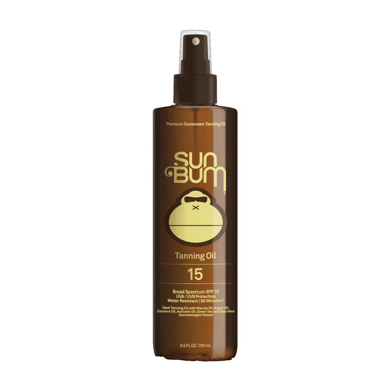 SPF 15 Sunscreen Tanning Oil, 8.5 oz-1