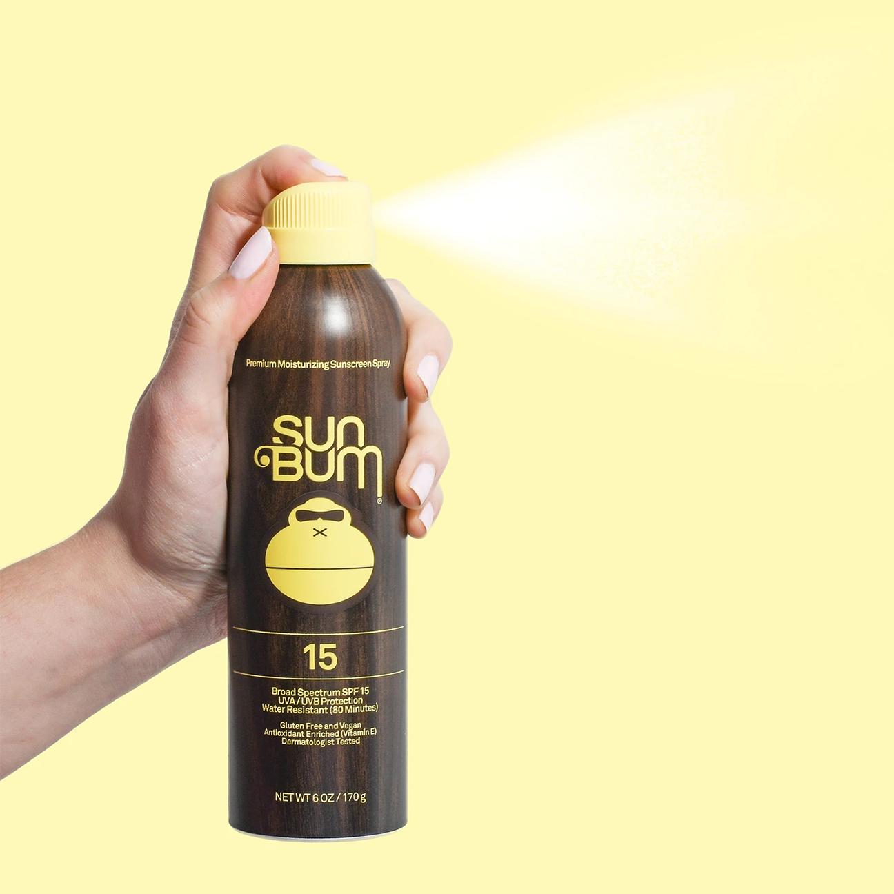 Original SPF 15 Sunscreen Spray, 6oz-3