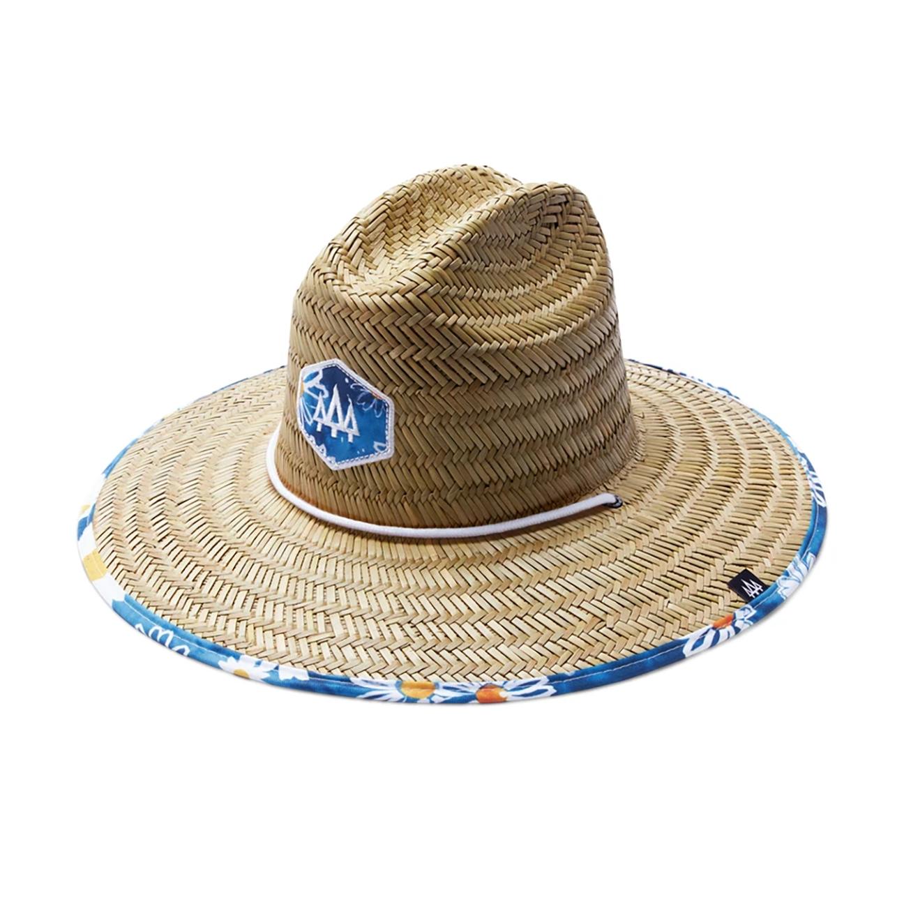Daisy Print Hat, Lazy Dazy-1