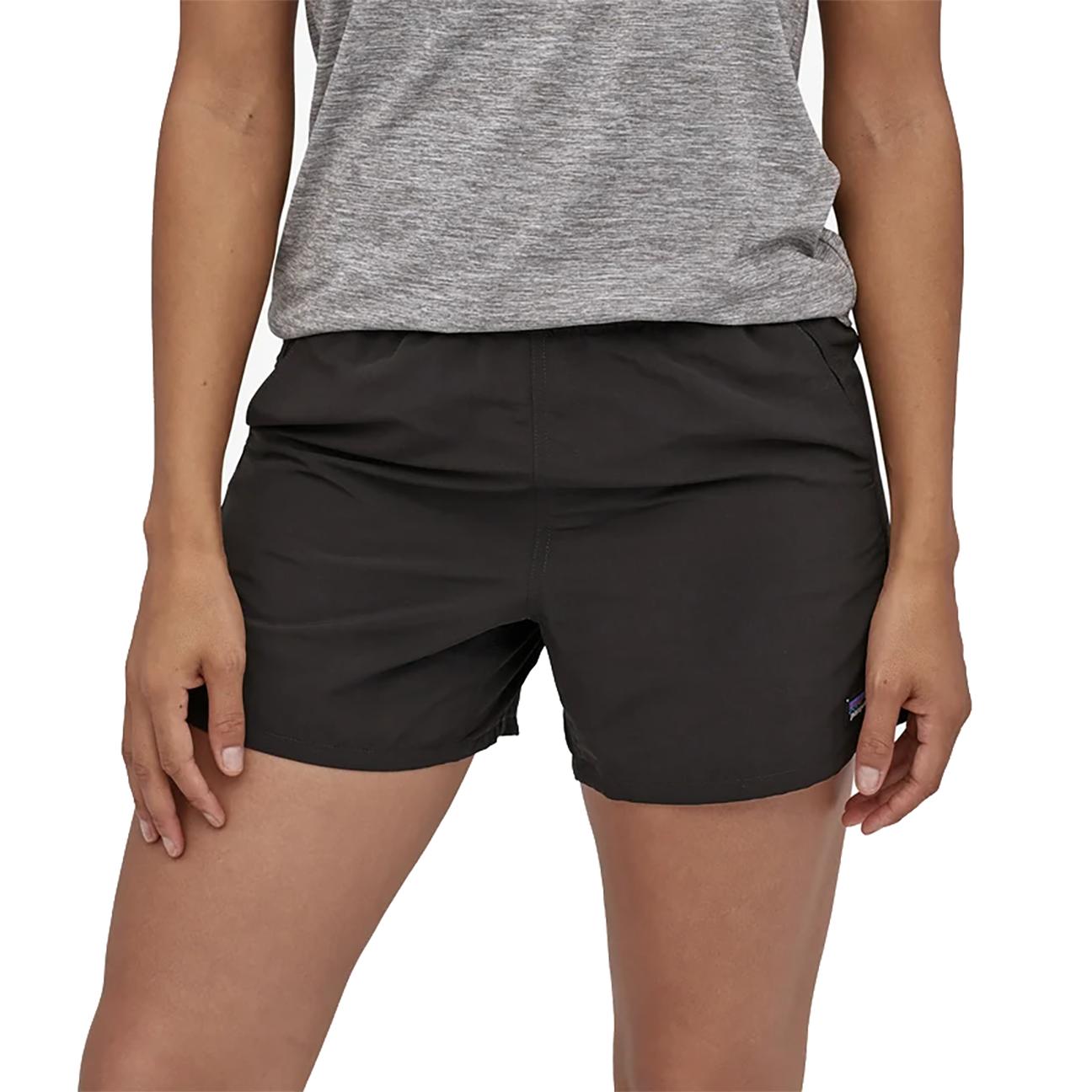 "Women's Baggies Shorts, Black - 5""-2"