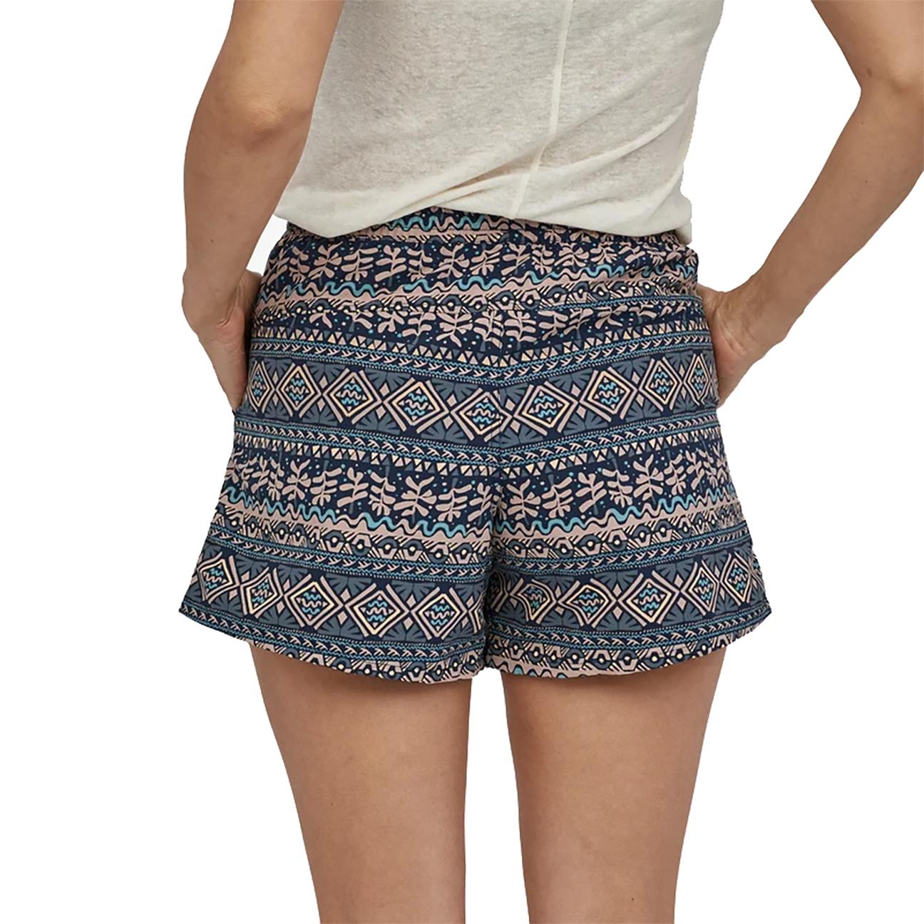 "Women's Baggies Shorts Mangrove Tiki: Tidepool Blue - 5""-4"