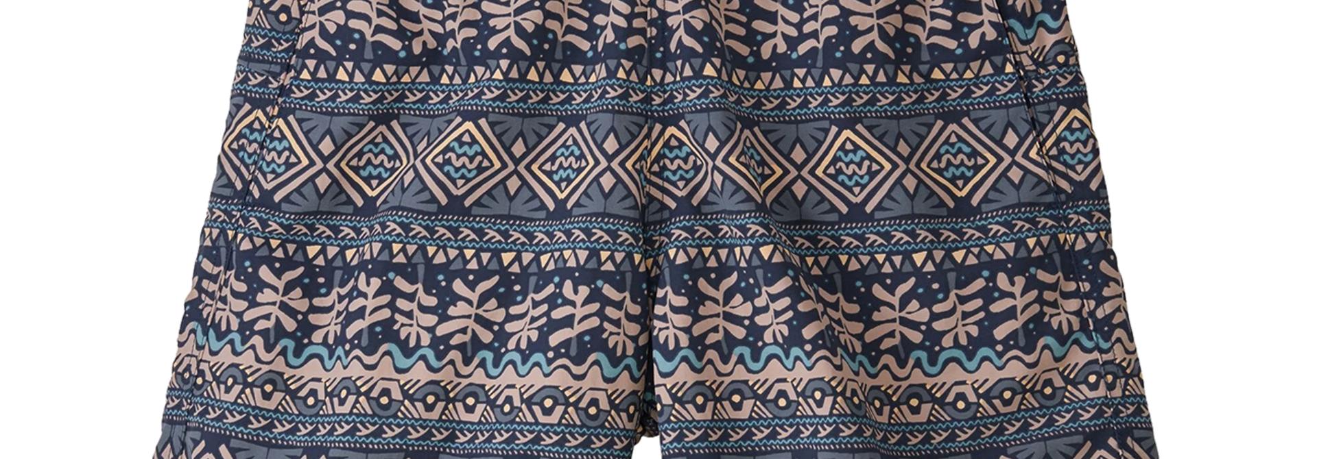 "Women's Baggies Shorts Mangrove Tiki: Tidepool Blue - 5"""