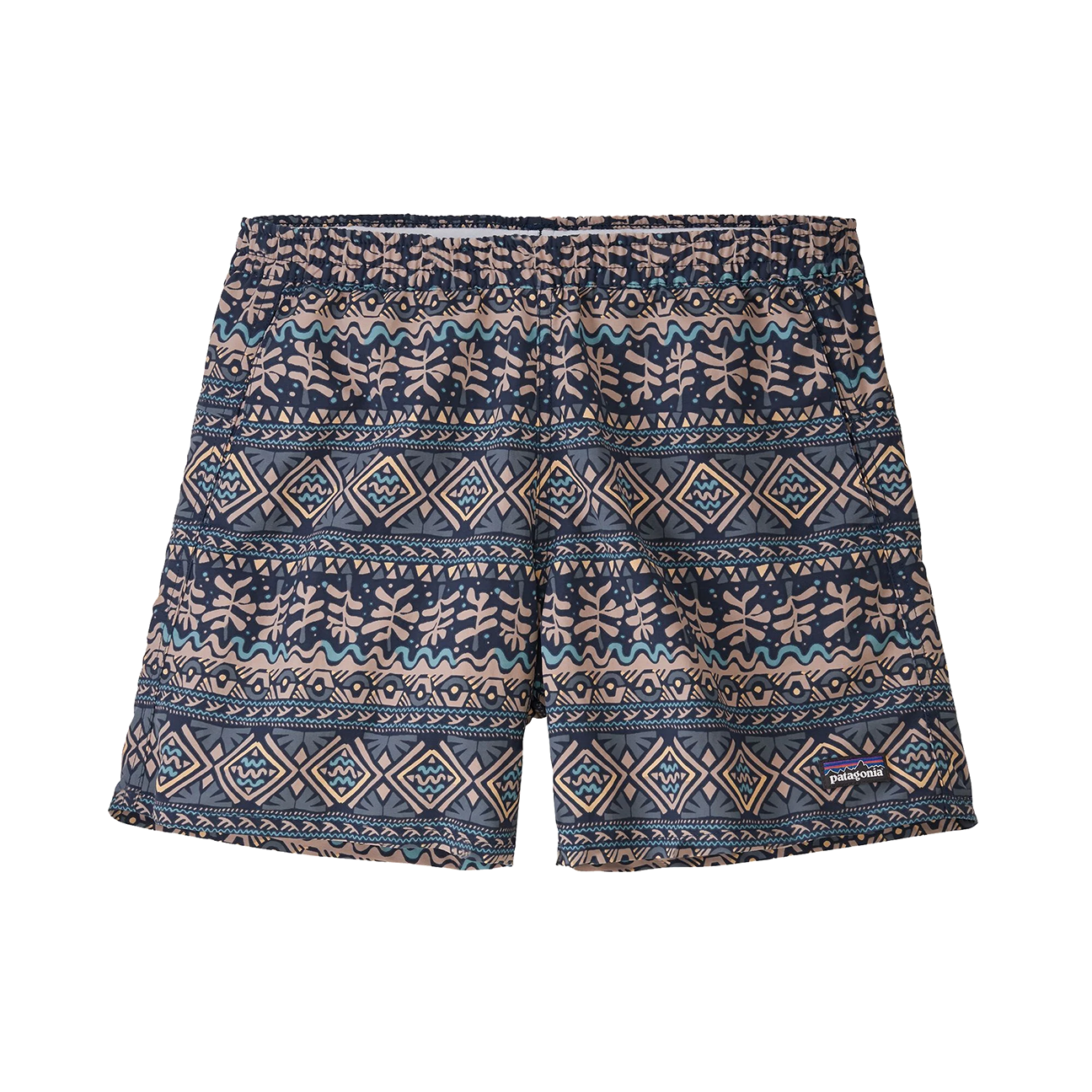 "Women's Baggies Shorts Mangrove Tiki: Tidepool Blue - 5""-1"