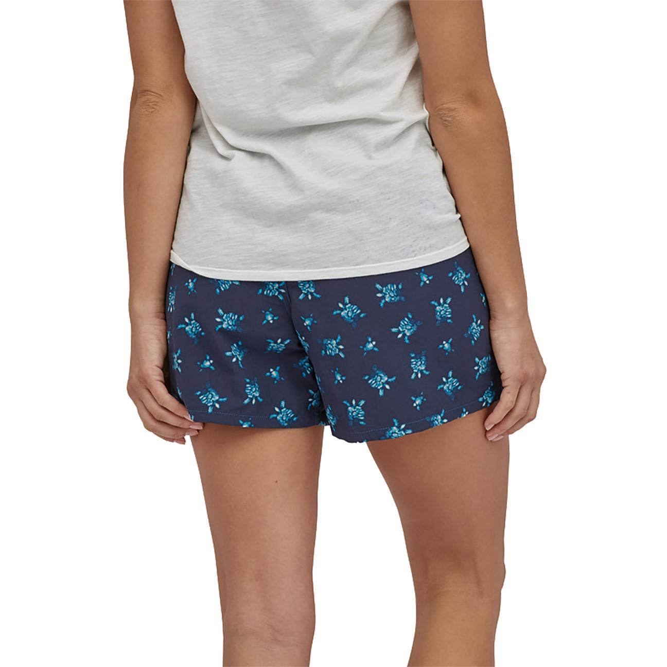 "Women's Baggie Shorts, Little Flippers: Steller Blue - 5""-3"