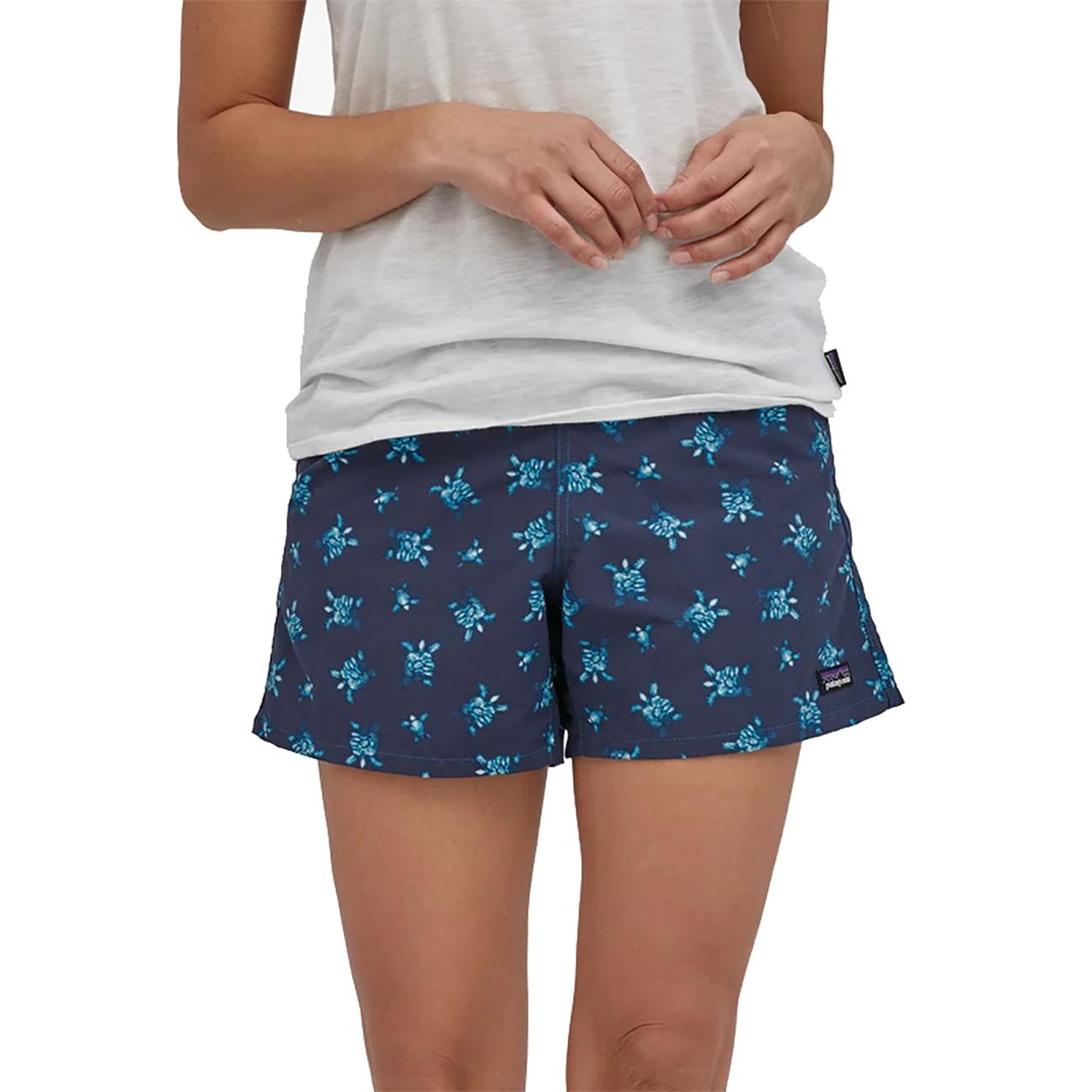 "Women's Baggie Shorts, Little Flippers: Steller Blue - 5""-2"
