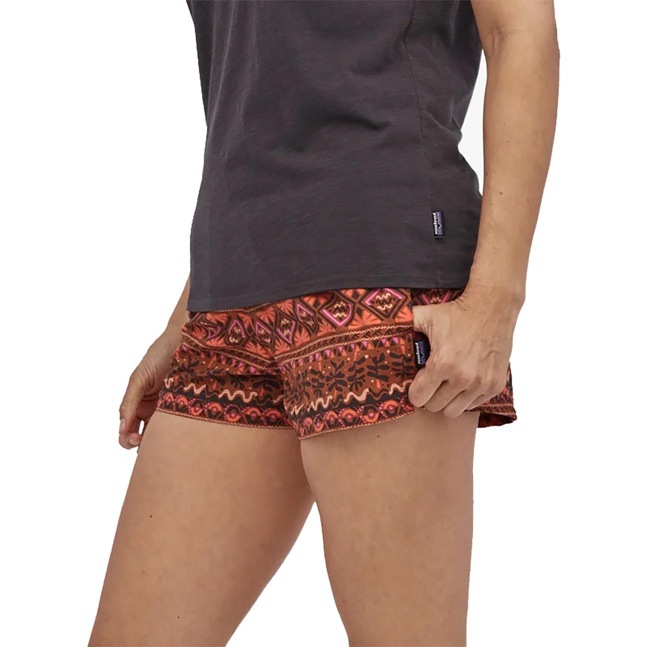 "Women's Barely Baggies, Mangrove Tiki: Henna Brown - 2 1/2""-3"