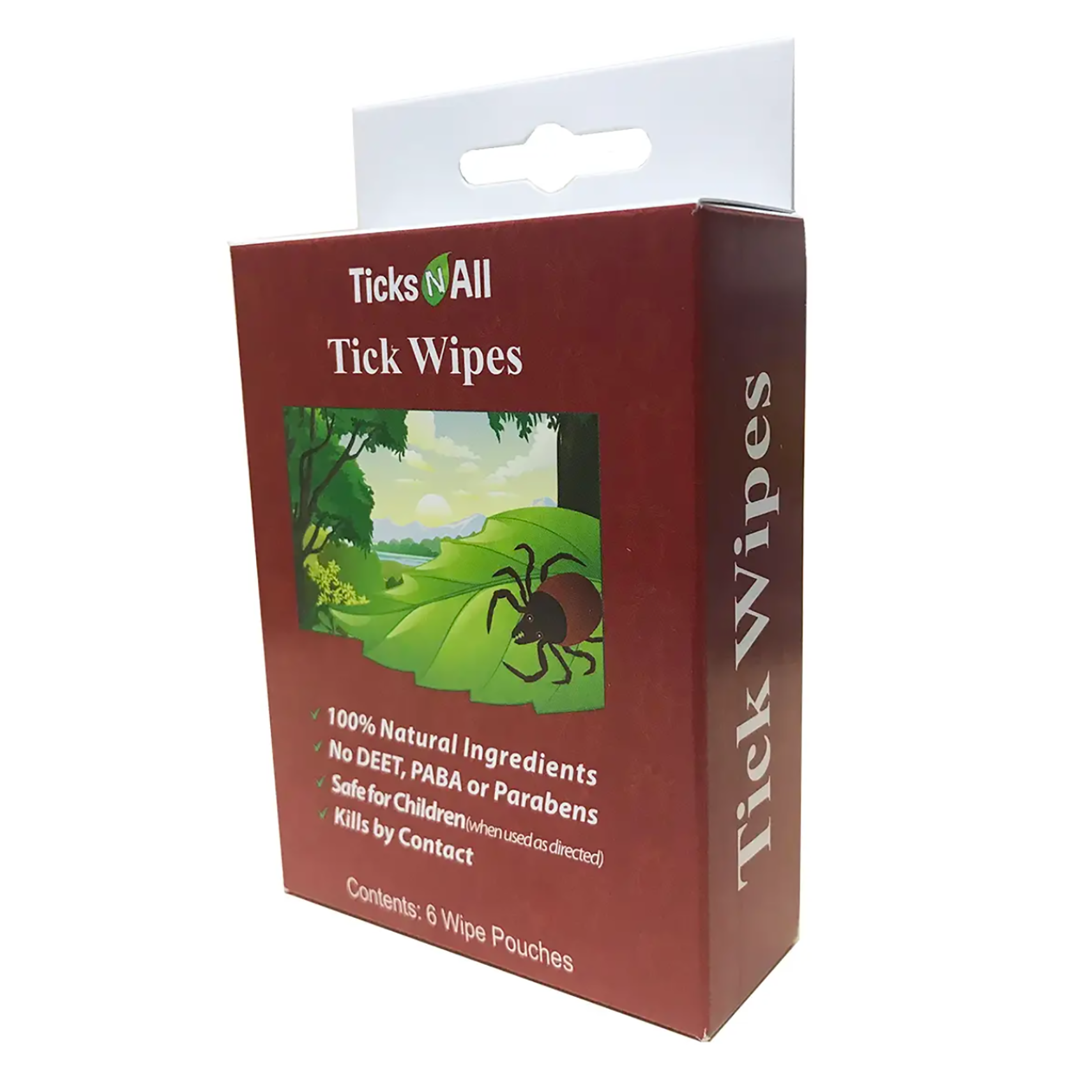 Tick Wipes - 6 pack-1