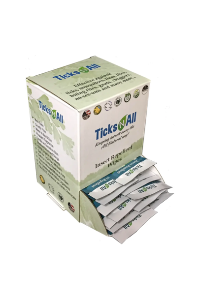 Individual All Purpose Insect Repellent Wipes