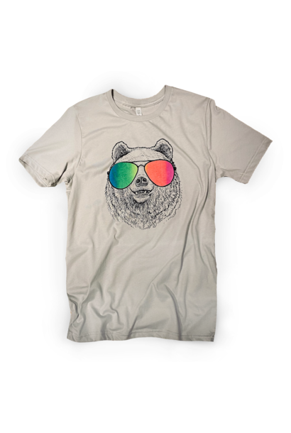 Bear with Gradient Sunglasses