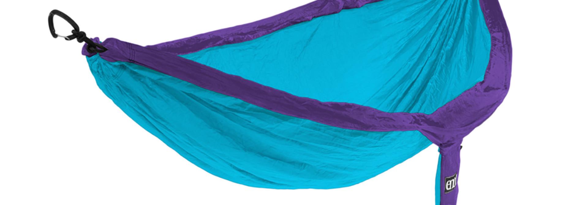 DoubleNest Hammock, Purple/Teal
