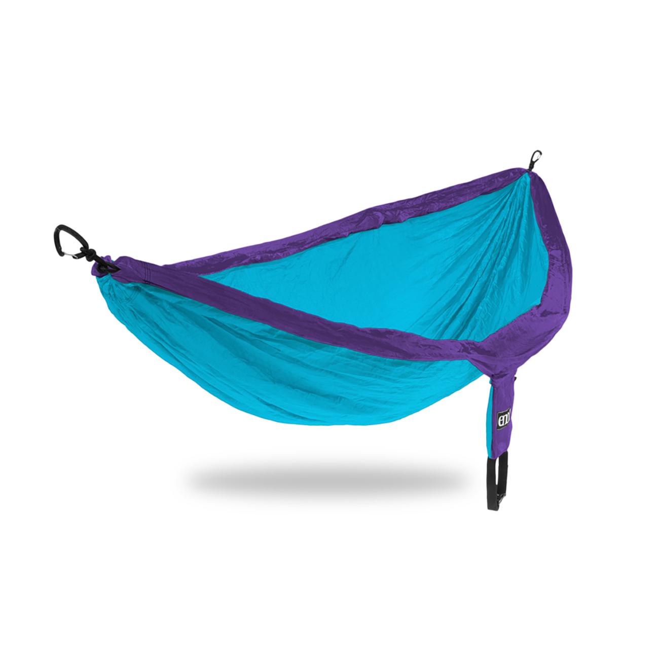 DoubleNest Hammock, Purple/Teal-1