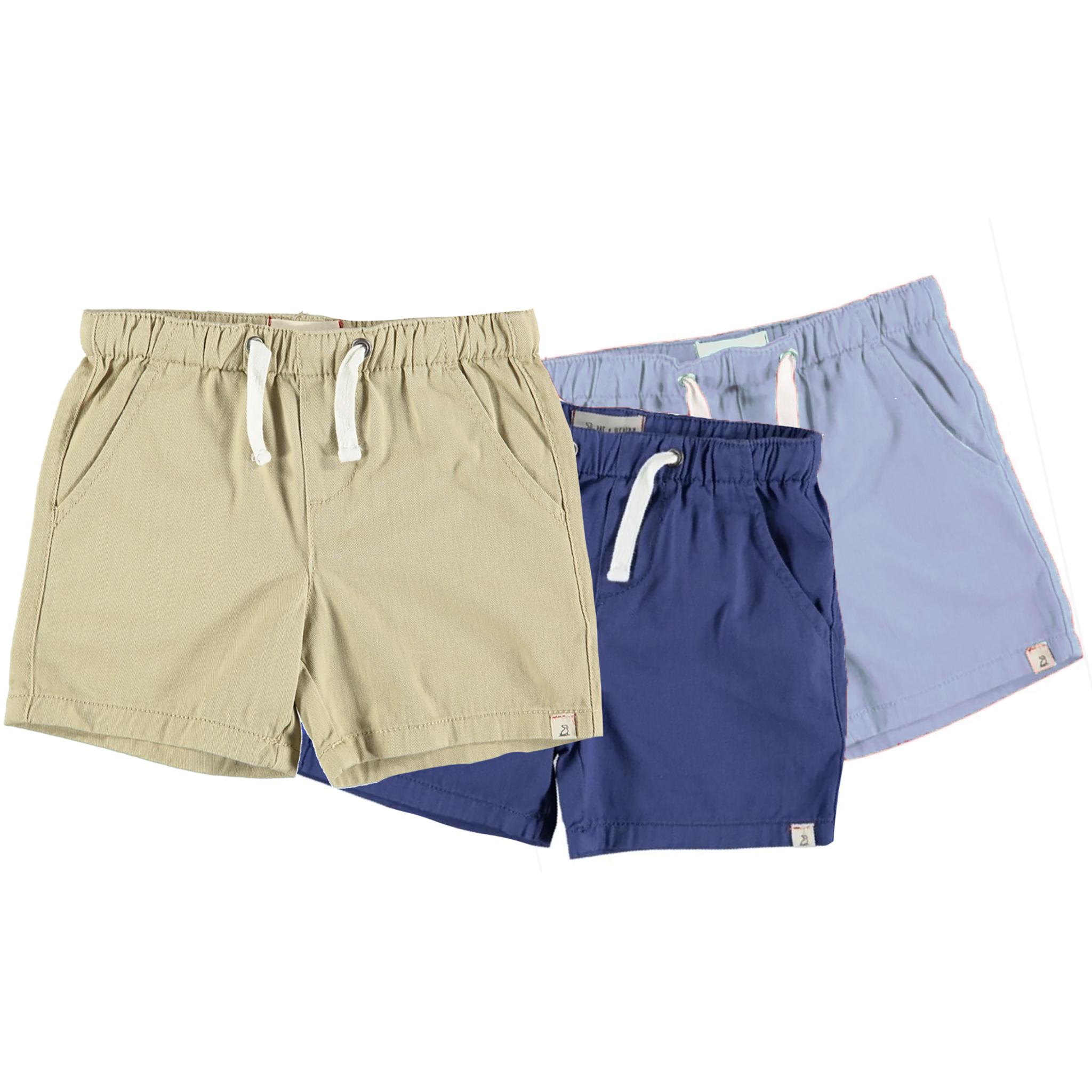 Kid's Twill Shorts-1
