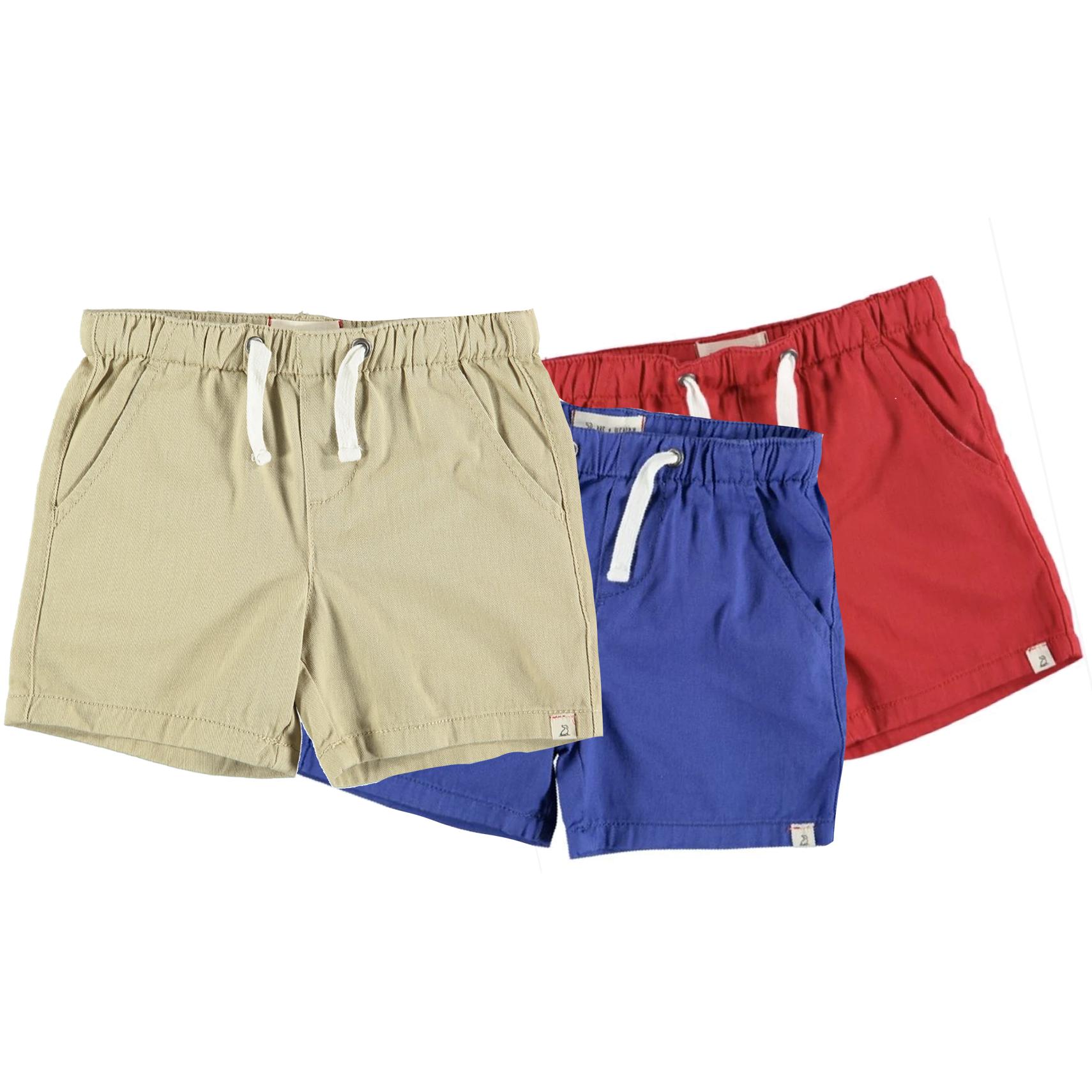 Kid's Twill Shorts-6