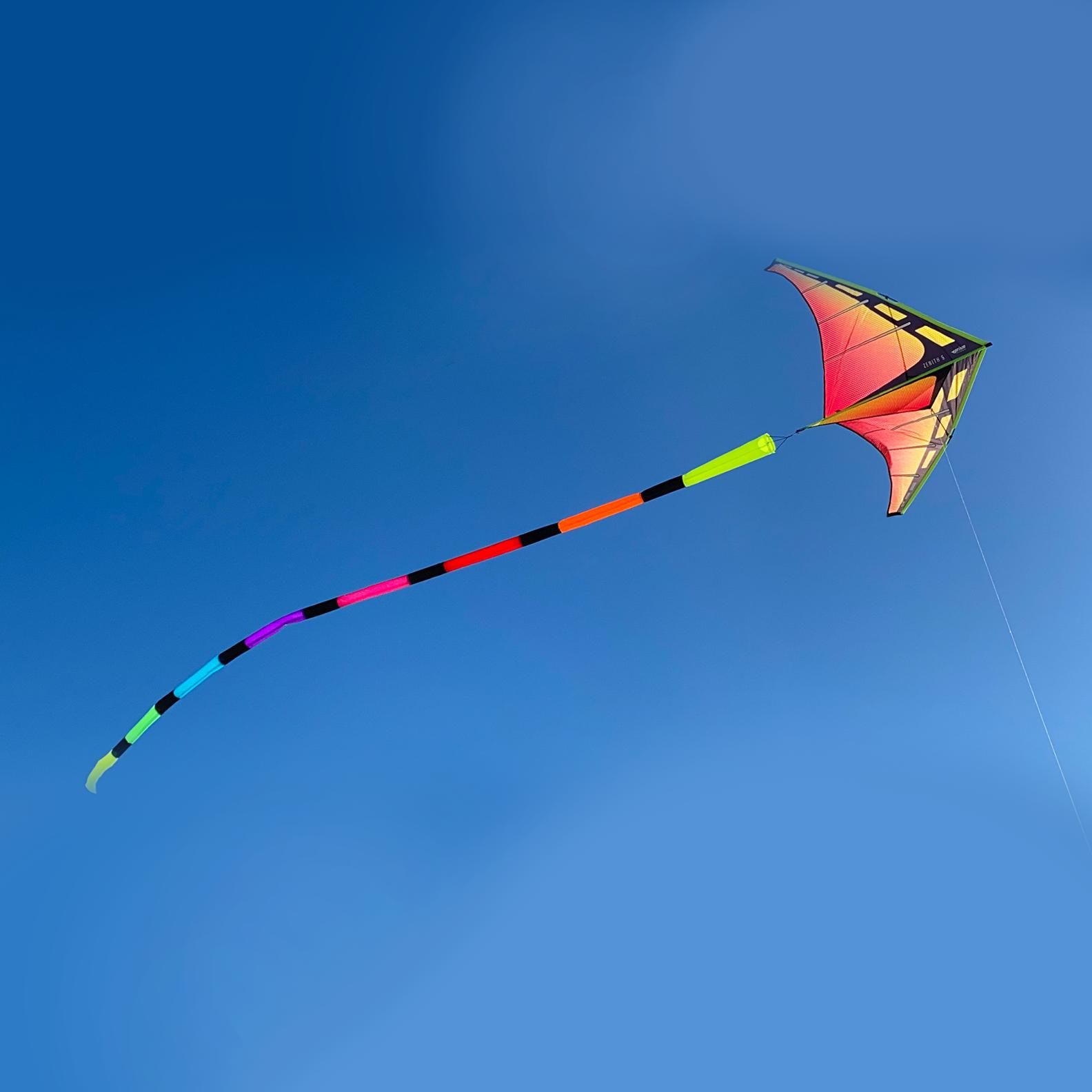 20' Tube Tail, Rainbow-2