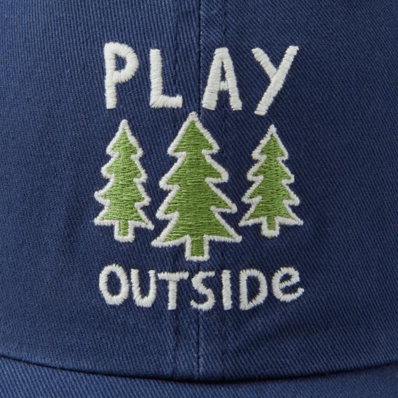 Play Outside Kids Chill Cap, Darkest Blue-2