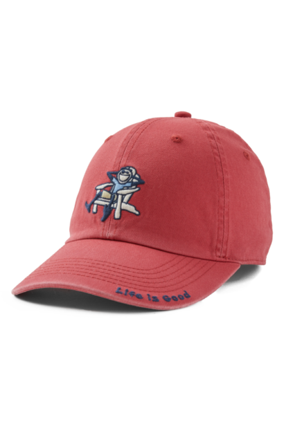 Adirondack Jake Vintage Chill Cap, Faded Red