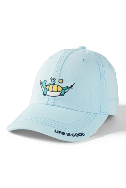 Take it Slow Sunwashed Chill Cap, Beach Blue
