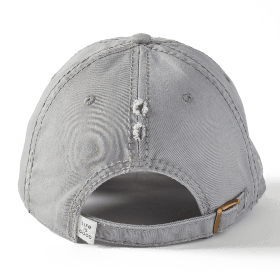 Hike More Worry Less Sunwashed Chill Cap, Slate Gray-2