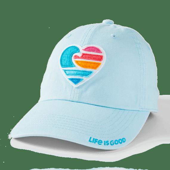 Clean Wave Heart Chill Cap, Beach Blue-1