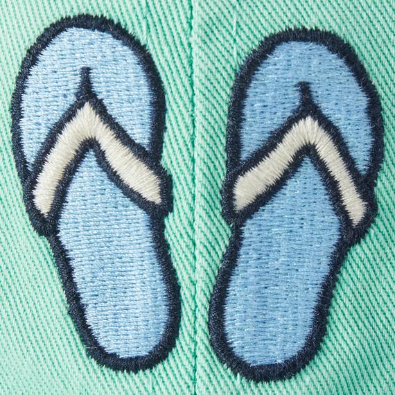 Flip Flops Vintage Chill Cap, Spearmint Green-4