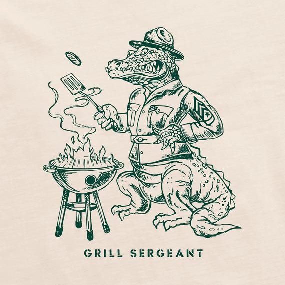 Men's Gator Grill Sergeant Short Sleeved Tee-2