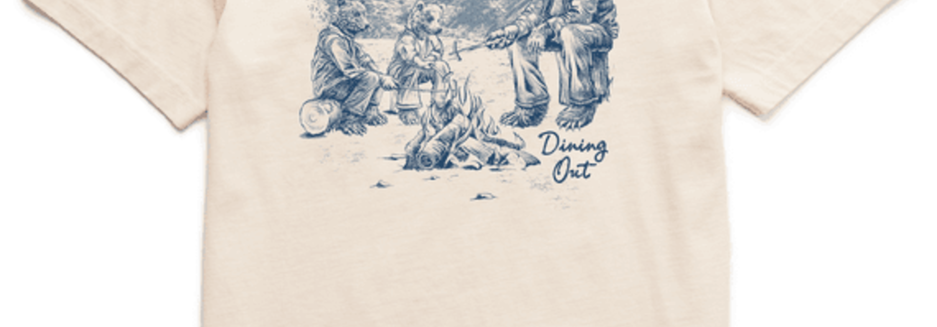 Men's Dining Out Bears Short Sleeved Tee