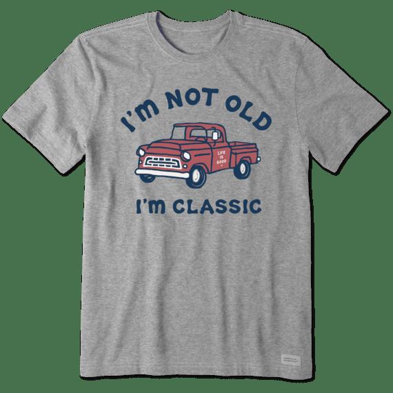 M's I'm Classic Pick Up Crusher-Lite Tee, Heather Gray-1