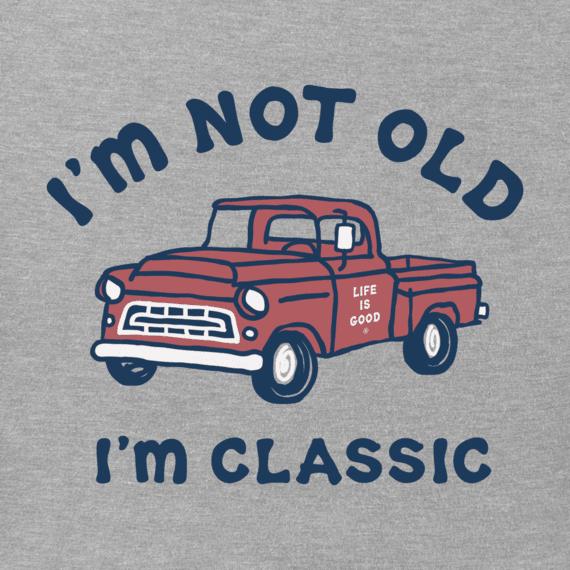 M's I'm Classic Pick Up Crusher-Lite Tee, Heather Gray-2