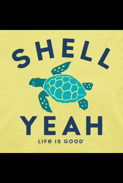 W's Shell Yeah High-Low Crusher Tank, Lemon Yellow