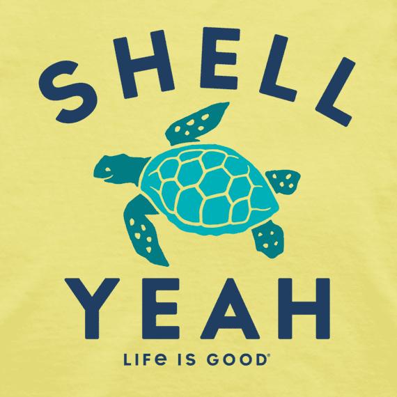 W's Shell Yeah High-Low Crusher Tank, Lemon Yellow-1
