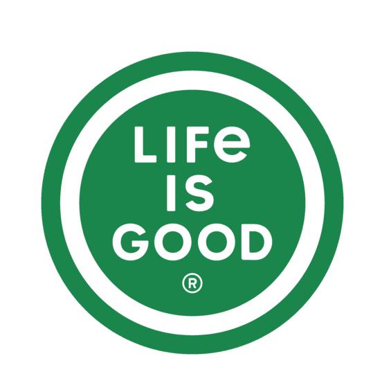 "LIG 4"" Circle Sticker, Jungle Green-1"