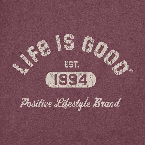 M's Positive Lifestyle 1994 Crusher-Lite Tee, Mahogany Brown-2