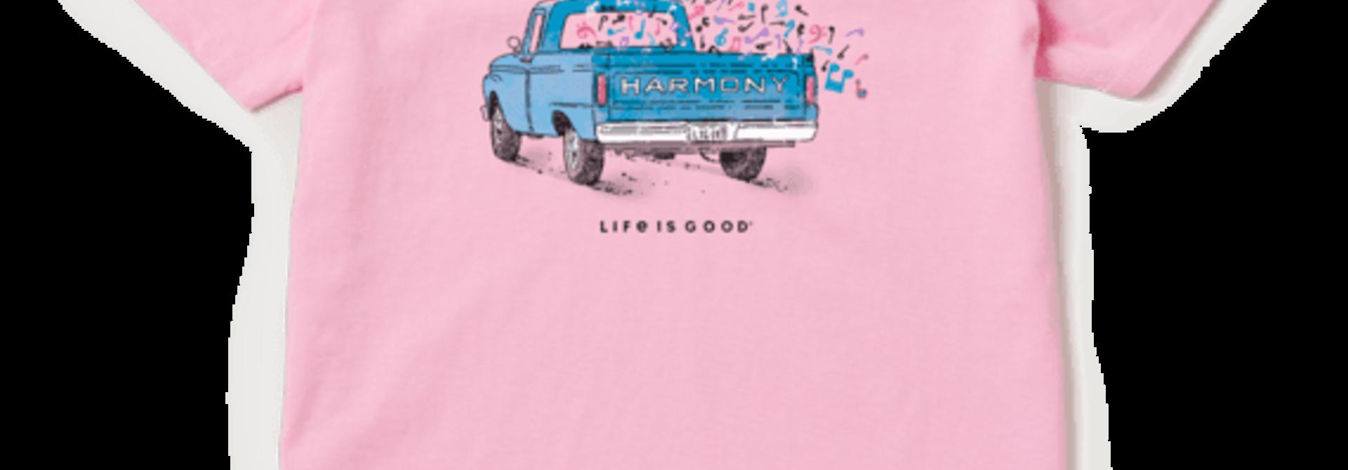 W's Harmony Truck Crusher Vee, Happy Pink