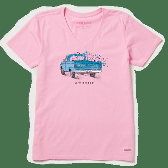 W's Harmony Truck Crusher Vee, Happy Pink-1
