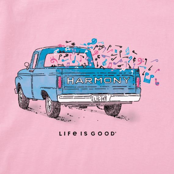 W's Harmony Truck Crusher Vee, Happy Pink-2